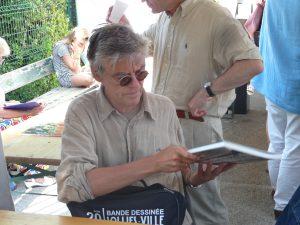 François Schuiten auteur de Bande Dessinée