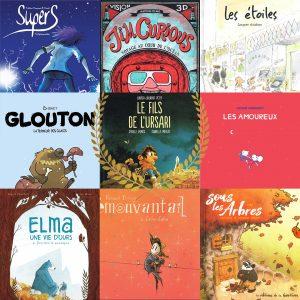 Les meilleurs bandes dessinées jeunesse publiées en France en 2019