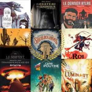 Les meilleurs nouvelles séries de Bande Dessinée franco-belge publiées en France en 2019