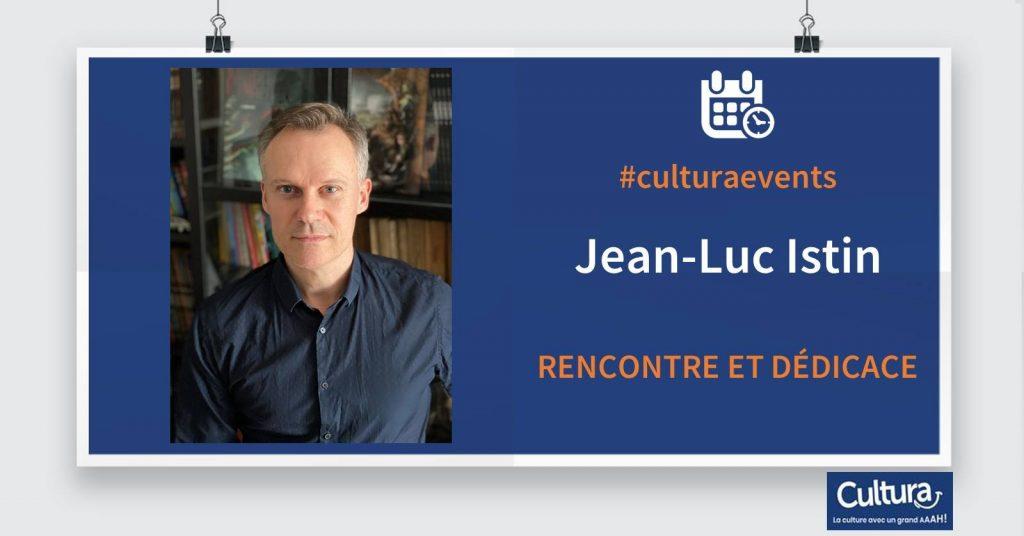 Rencontre bande dessinée avec le scénariste Jean-Luc Istin (Les terres d'Arran) animée par Yaneck Chareyre, critique Bande Dessinée, au Cultura Langueux le 14 mars 2020.