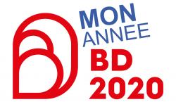 logo 2020 année de la BD détourné par Yaneck Chareyre